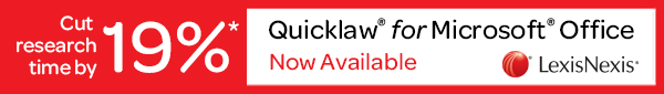 Quicklaw for MS Office