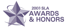 SLA 2008 Awards logo