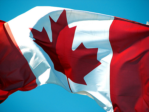 Canada flag (larger)