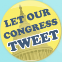 Let Our Congress Tweet logo