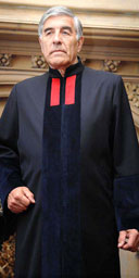 New English judicial robes, via Slaw; as the image has been moved somewhere else on the official UK judiciary website