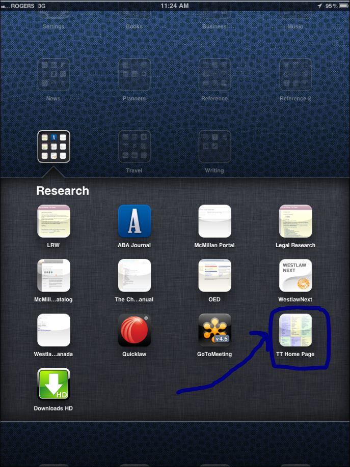 how to create a folder on ipad with password