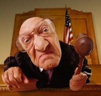 Angry Judge