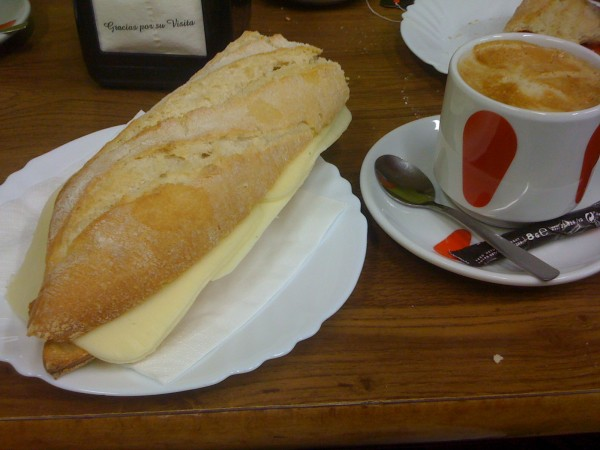 Second breakfast on the Camino