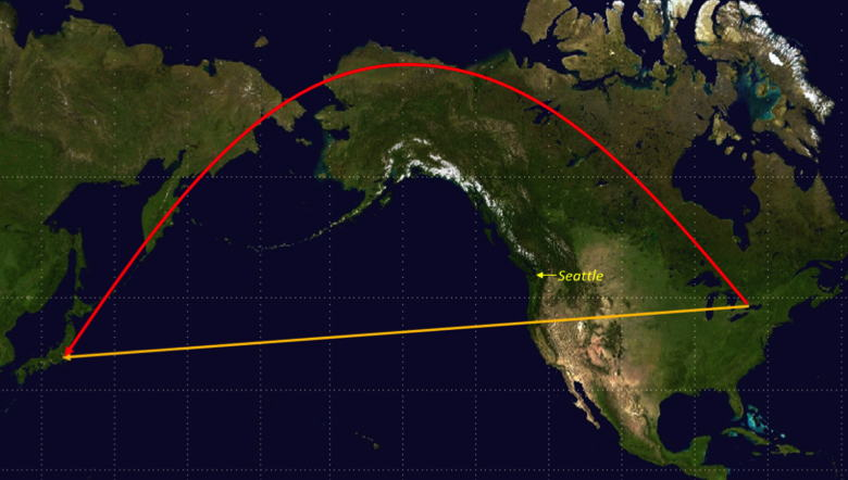 The Great Circle Route – Slaw